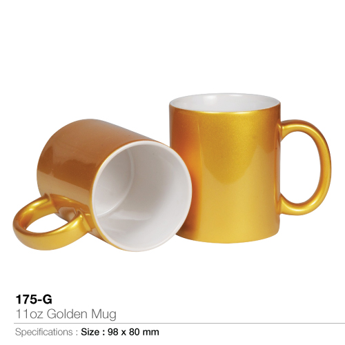 11oz golden mug (175-g)