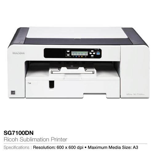 Ricoh sublimation printer sg7100dn