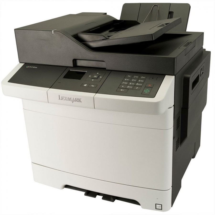 Lexmark CX310n Multifunction Color Laser Printer_2