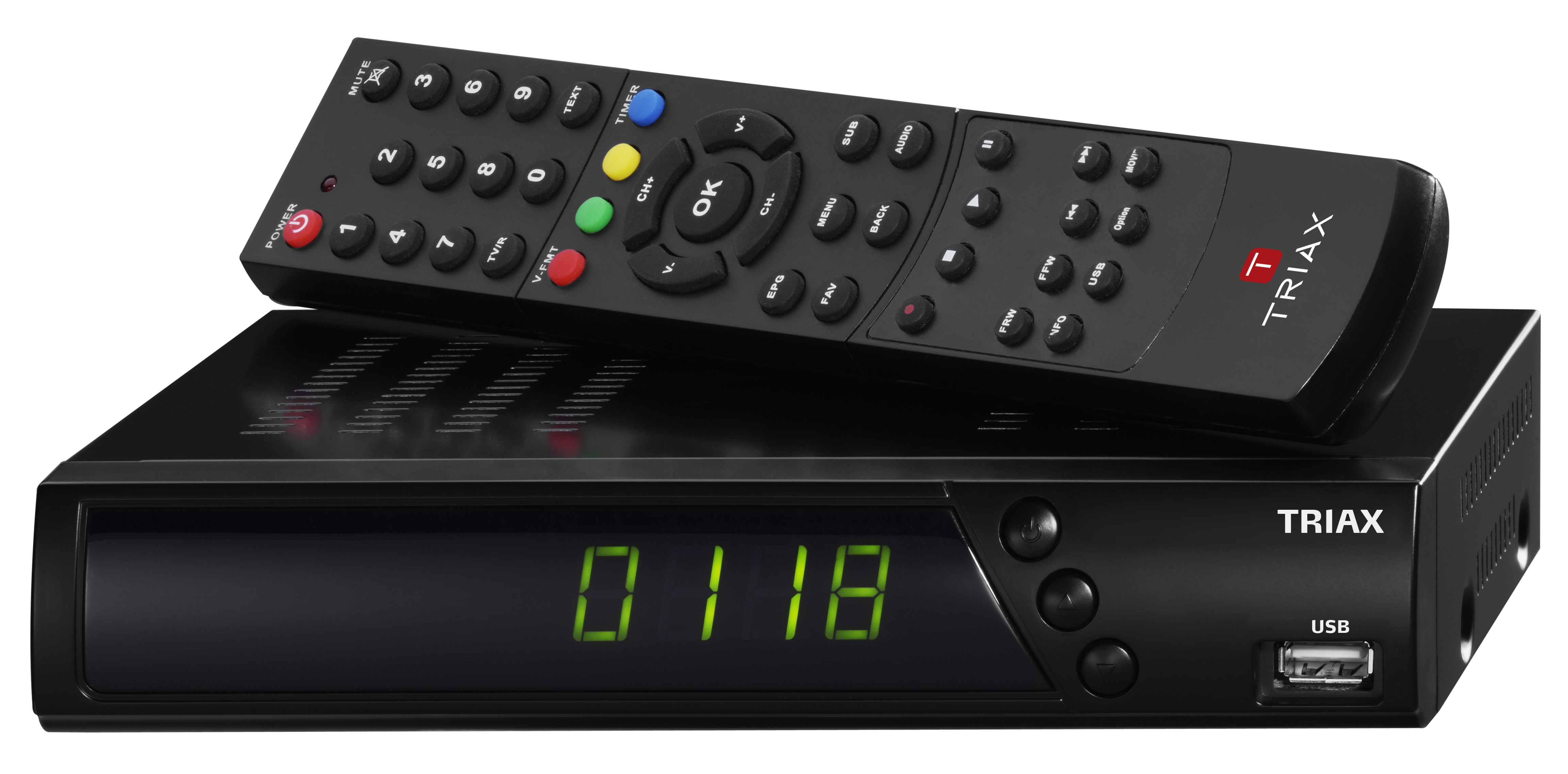Set top boxes triax