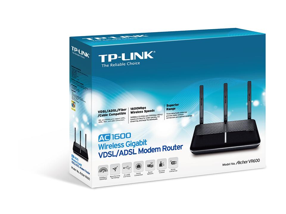 AC1600 Wireless Gigabit VDSL ADSL Modem Route_2