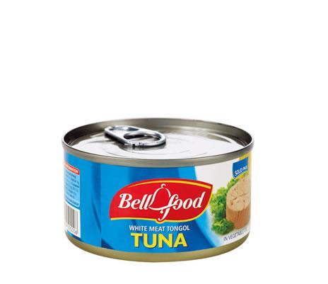 Canned tuna meat