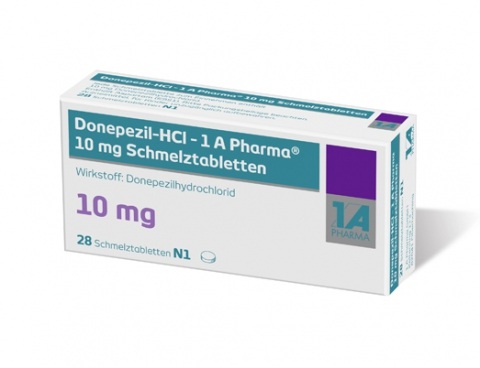 Donepezil hydrochloride ir tabs - anti dementia