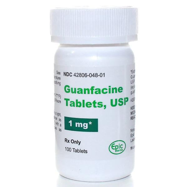 Guanfacine xr tabs - anti hypertensives