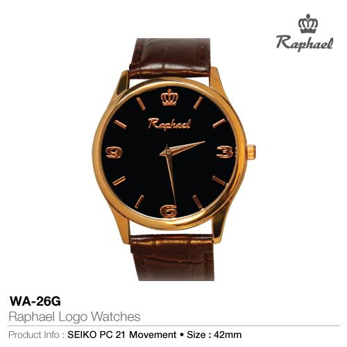Raphael logo watches wa-26g