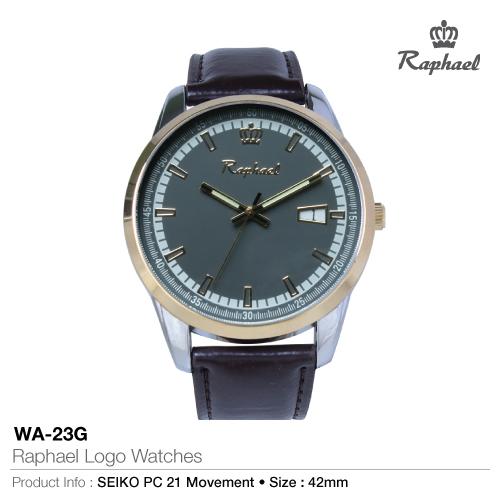 Raphael logo watches wa-23g
