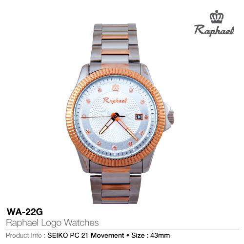 Raphael logo watches wa-22g
