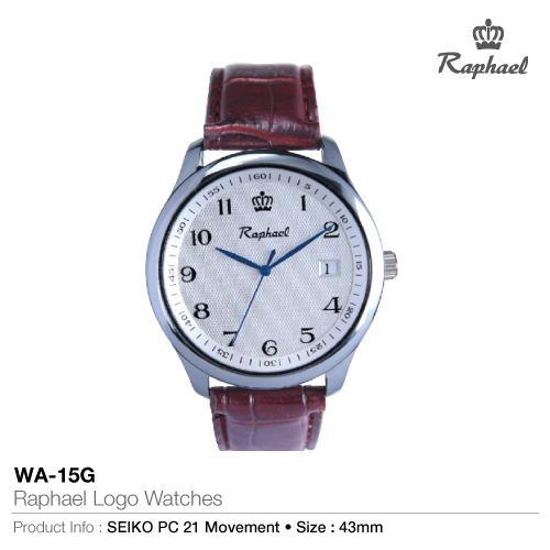 Raphael logo watches wa-15g
