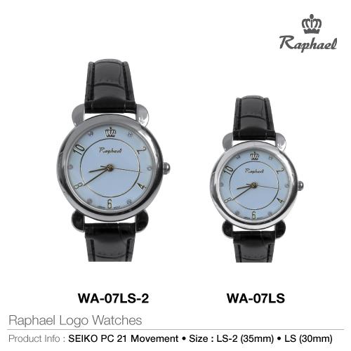 Raphael logo watches wa-07s
