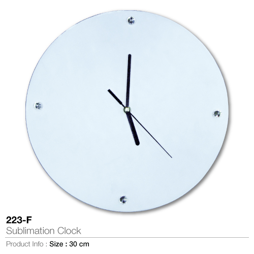 Sublimation clock 223-f