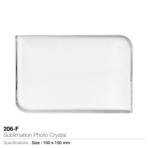 Sublimation photo crystal 206-f