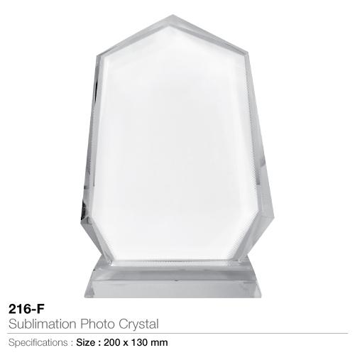 Sublimation photo crystal- 216-f