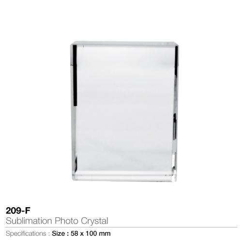 Sublimation photo crystal- 209-f