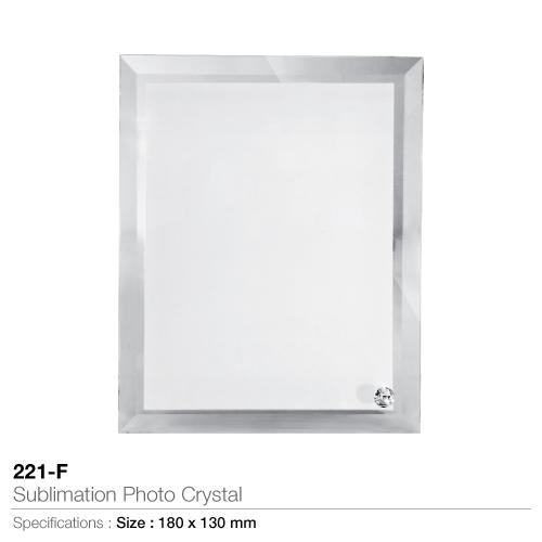Sublimation Photo Crystal- 221-F