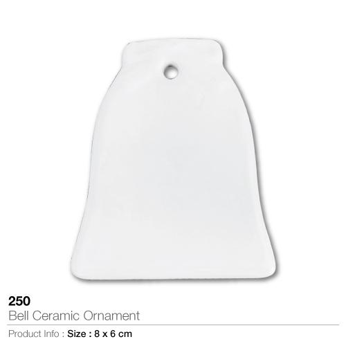 Bell ceramic ornament 250