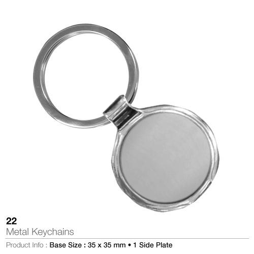 Metal keychain-22