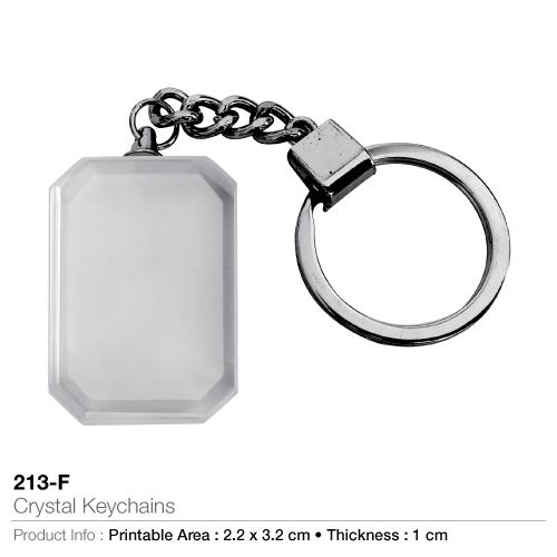 Crystal key chains 213-f