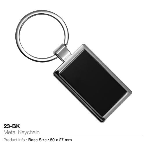 Metal Keychain 23-BK_2