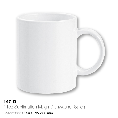11oz sublimation mugs- dishwasher safe- 147-d