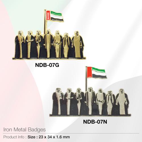 Iron metal-badges- ndb-07