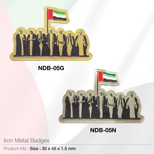 Iron metal-badges- ndb-05