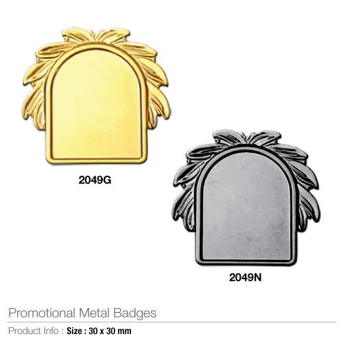 Promotional metal badges- 2049