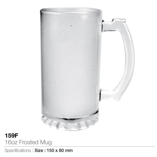 16oz frosted mug- 159-f