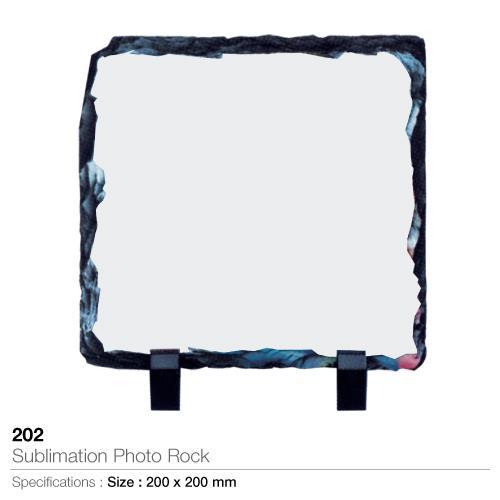 Sublimation photo rock- 202