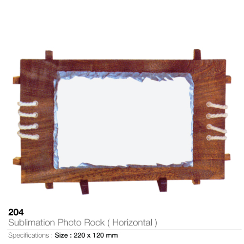 Sublimation Photo Rock- Horizontal-  204_2