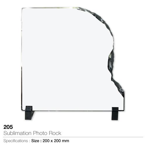 Sublimation photo rock- 205