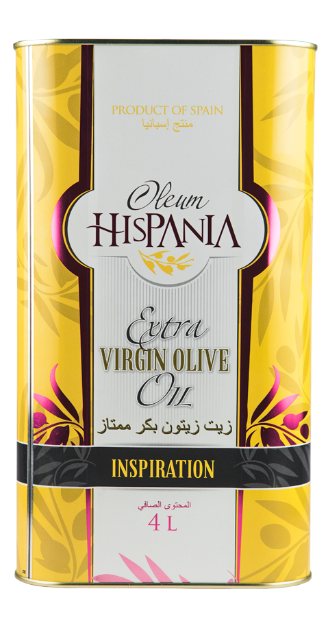 Oleum Hispania - Inspiration Extra Virgin Olive Oil Can - 4L_2
