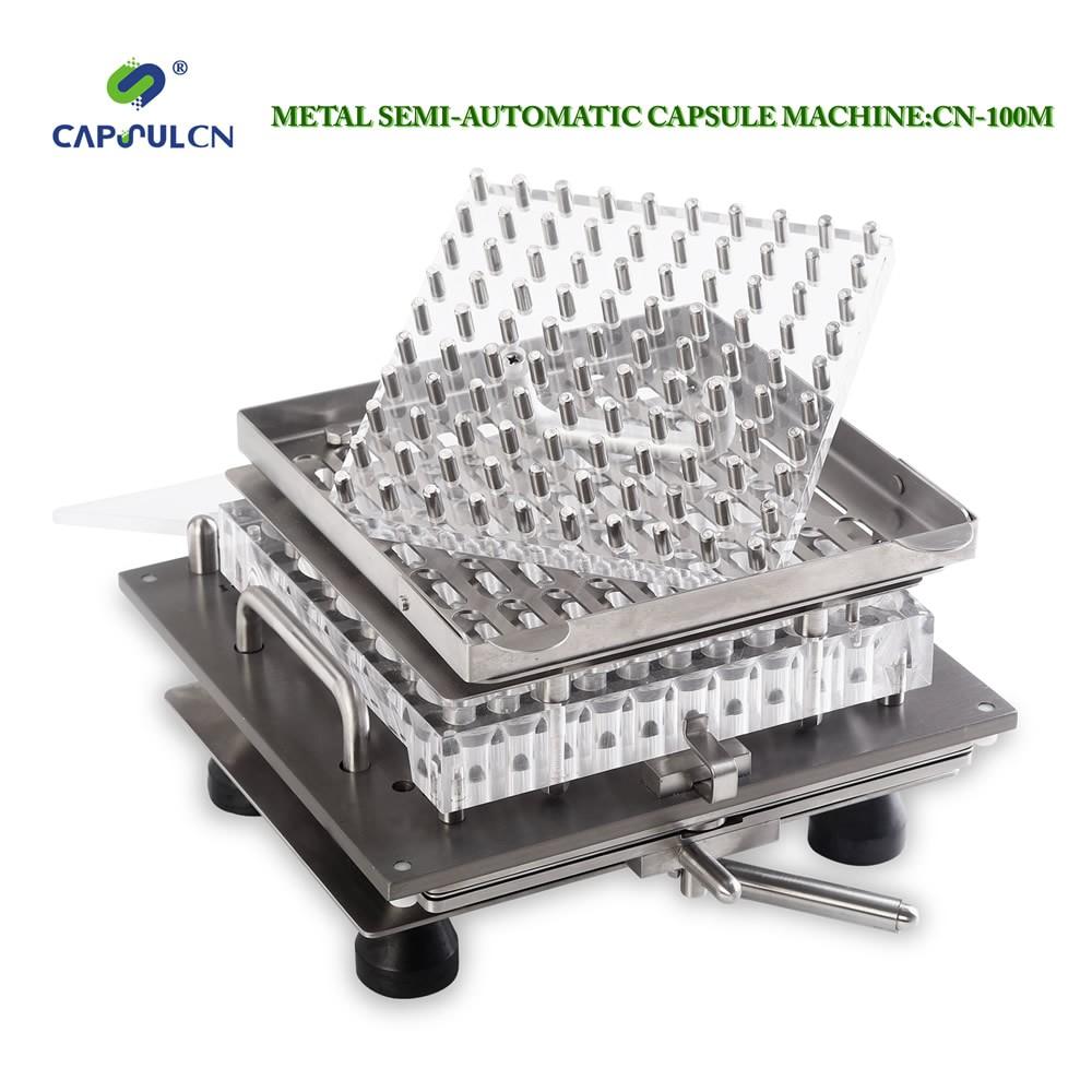 Semi-auto metal capsule filling machine