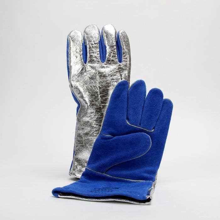 JUTEC Sebatan Leather/Aluminium Coated Glove_3