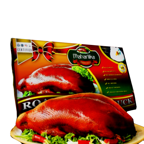 Roasted pekin duck