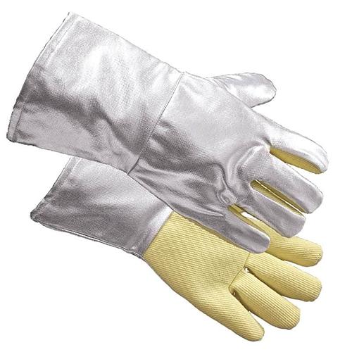 JUTEC Aramid/Aluminium Coated Glove-Yellow_2
