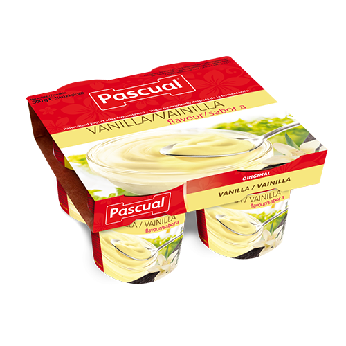 Pascual flavours vanilla