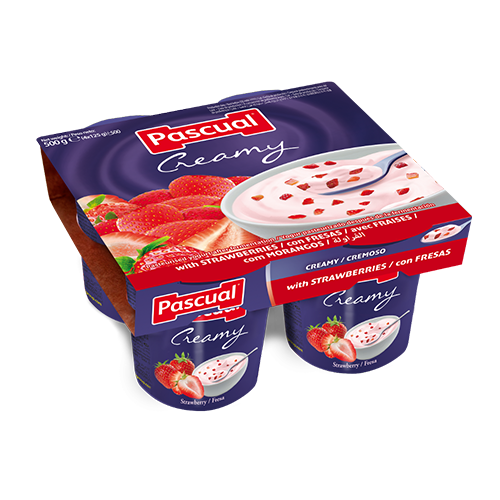Pascual creamy strawberry