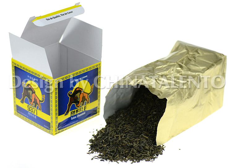 BUFFLE 9371 China Green Tea Chunmee_2