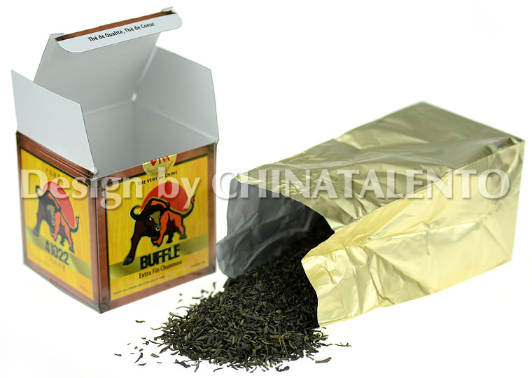 BUFFLE 41022 China Green Tea Chunmee_2