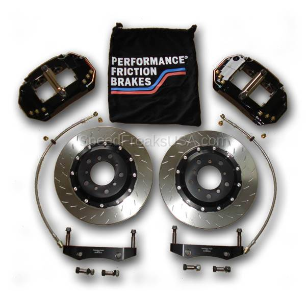 378 mm mono 6 brake kit / lumina ss / a20066378mon06b