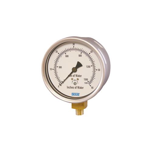 Low pressure gauges