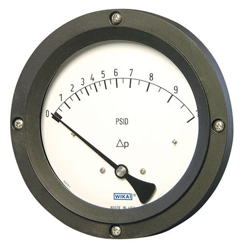 Differential & duplex pressure gauges